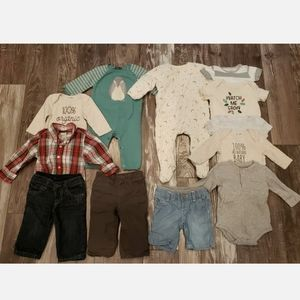 12 Piece Bundle Baby Boy Clothing Gap Nordstrom